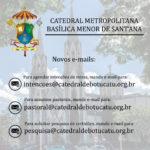 Novos e-mails da Catedral