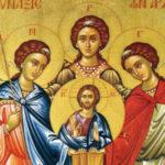 Santos Arcanjos Miguel, Gabriel e Rafael