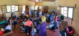 Doação em Dombe/ Moçambique