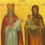 São Zacarias e Santa Isabel, os pais de João Batista