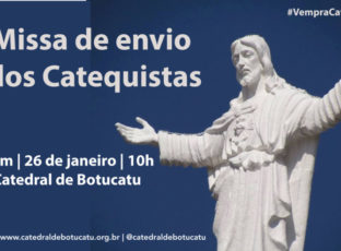 Domingo: Missa de Envio dos Catequistas da Catedral