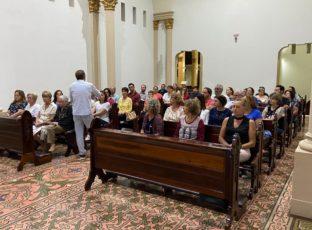 Equipe Central de Liturgia se reúne para momento de formação e espiritualidade