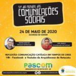 Dia Mundial das Comunicações contará com live especial