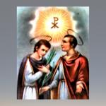 Santos João e Paulo