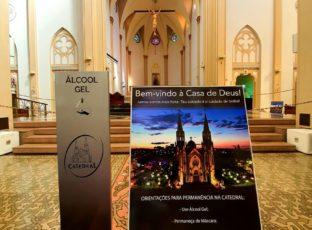 Catedral se prepara para reabertura para Oração Pessoal