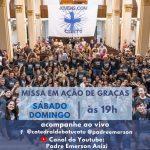Missa em Ação de Graças pelos 12 Anos da Comunidade Jovens.Com Cristo
