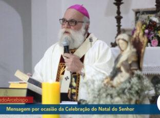 Mensagem de Dom Maurício por ocasião da celebração do Natal do Senhor