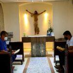 """""""Diaconato: Servir como Cristo"""" – seminarista Marquinho começa retiro espiritual em preparação para a Ordenação Diaconal"""