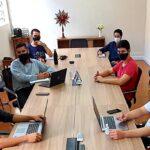 Seminaristas do Seminário São José realizam momento de formação com promotor