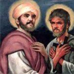 São Filipe e São Tiago, discípulos e apóstolos de Jesus Cristo