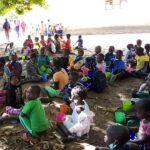 Retorno das aulas na missão em Moçambique que recebe ajuda de nossa Catedral