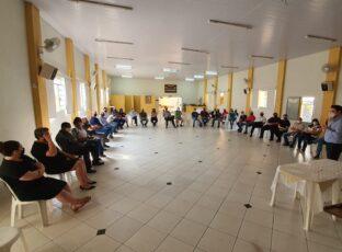 """Equipe Curial de Administração da continuidade ao projeto """"Cúria em saída: Cuidando de quem já participa"""" em Avaré"""