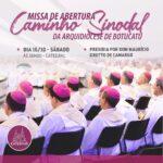 Arquidiocese de Botucatu inicia o Caminho Sinodal este final de semana.